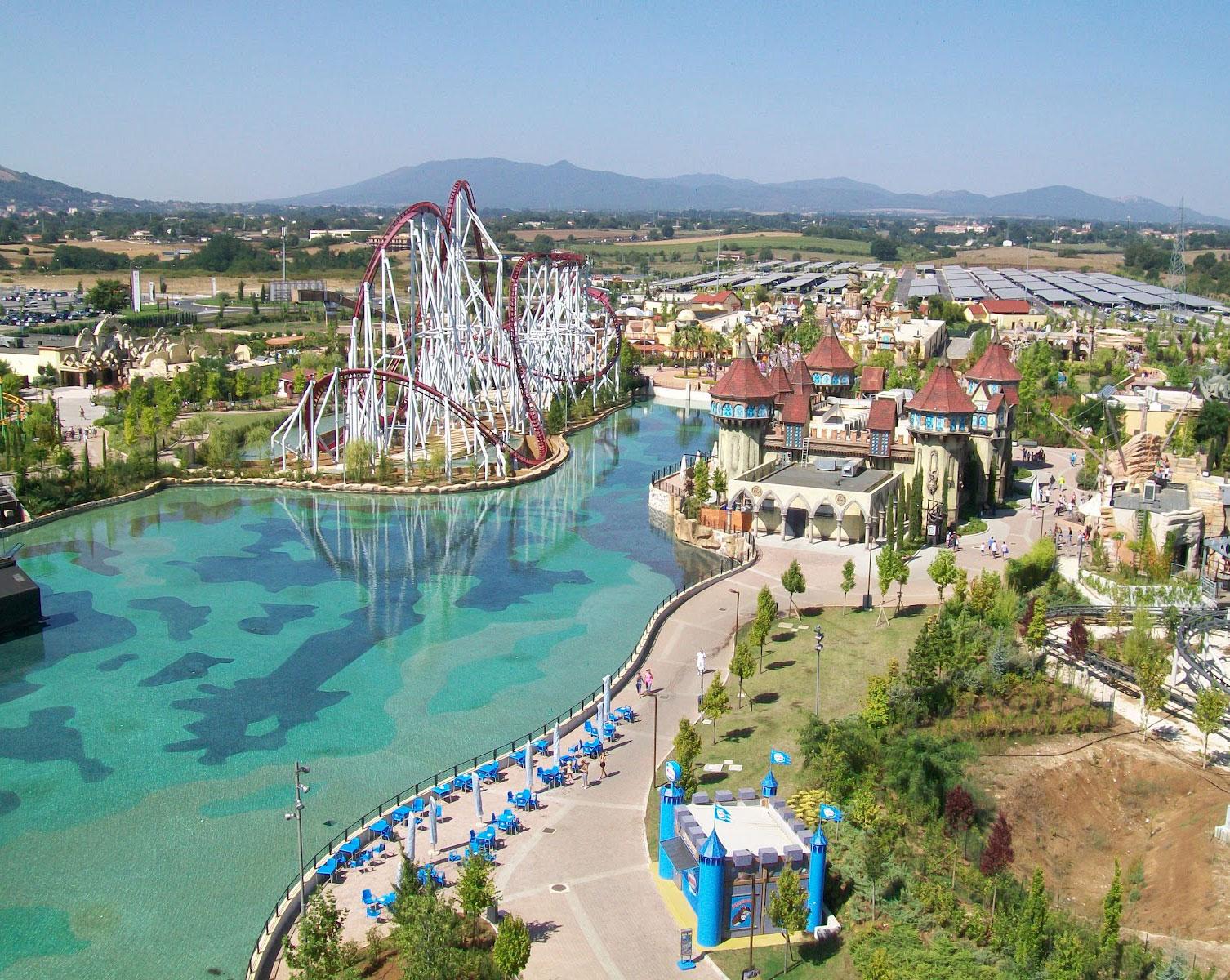 Offerte rainbow magicland del victoria terme hotel di - Parco tivoli piscina ...